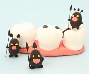 """むし歯治療は""""元に戻す""""のではなく""""修復""""に過ぎない"""