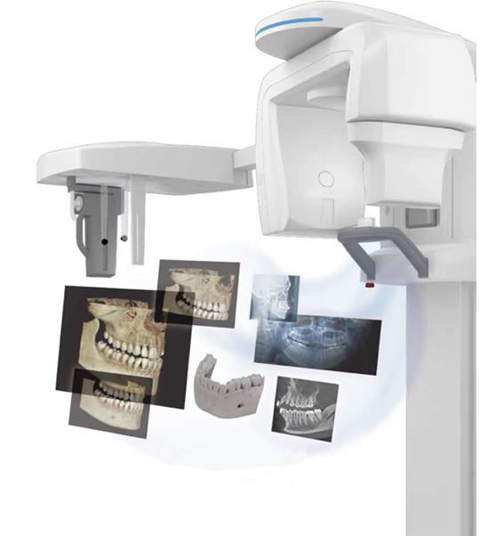 エクセラスマート(最新式CT,セファロデジタルレントゲン複合機)