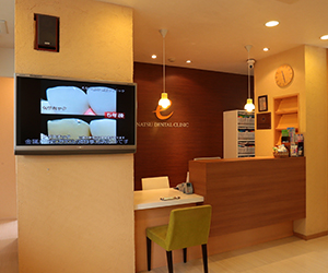 完全予約制で、予約の患者様との時間の約束を守る歯科医院