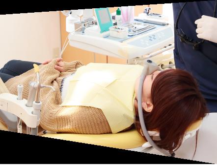 麻酔技術を駆使したストレスフリー診療