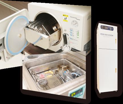 殺菌水で院内感染を予防衛生管理システムの導入